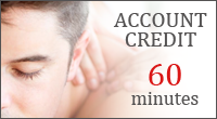 Logo for Healing Hands massage account credit for 60 minutes in chester and delaware county