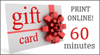 Logo for Healing Hands massage gift card for 60 minutes in chester and delaware county