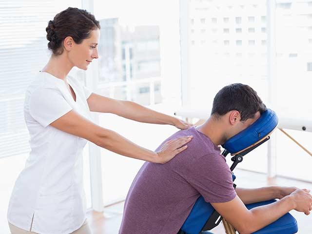 Healing Hands Massage Workplace Chair Massage
